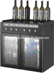 6 bouteilles de vin rouge le refroidisseur/cave à vin vin vin/Chiller/distributeur/armoire à vin (SC6)