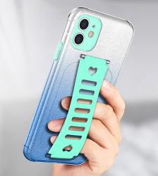 アマゾンiPhone 11、iPhoneのための勾配のきらめきの輝いた移動式ケースのためのかわいいBling女性の電話箱12プロ最大