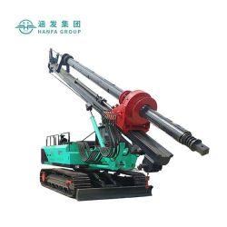 유압 이동할 수 있는 말뚝박기 공사 기계 회전하는 드릴링 리그 (HF330)