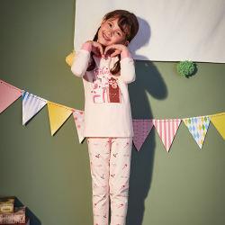 소녀와 소년 피복 세트 아이 Sleepwear 고정되는 면 잠옷 아이들의 가게 도매 만화 잠옷 한 벌