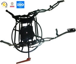 旋回装置が付いているグライダーのリクライニングチェアの椅子のメカニズム