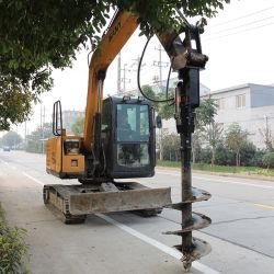 La transmisión del sinfín de la tierra hidráulico para cargadora retroexcavadora cargadora compacta de la grúa de la excavadora Tractor