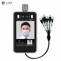 Dynamique de la borne de mesure de température de reconnaissance faciale avec fièvre Detcetion