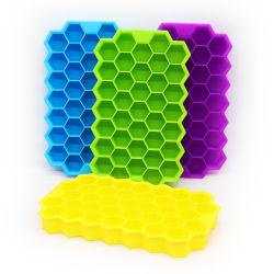 علبة ورق من السيليكون Cube خالية من مادة BPA مع غطاء
