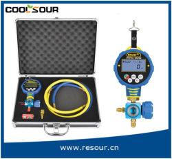 Neues Digital-einzelnes Verteilerleitung-u. Vakuumtemperatur-Anzeigeinstrument gesetztes Wk-6881L/H