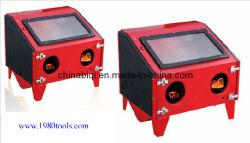분사기 Cabinet 또는 Sandblasting Cabinet Equipment/Bench Sandblaster Cabinet Hs Code는 84243000, 84249090, 8480710090, 84254910, 84254210, 8504409990이다)