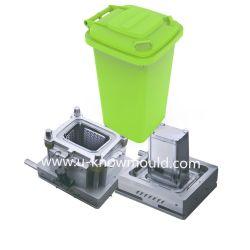 ABFALL-Form-Abfalleimer-Form des grünen Mülleimer-240L Plastik