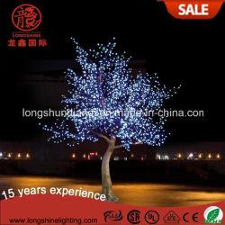 Многоцветные синий Черри Блоссом дерева для фонаря освещения