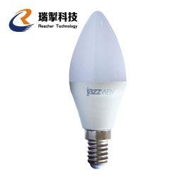 Luminária com LED Lâmpada Lâmpada E14 E14 Luz Interior da luz de velas LED 220V 110V 5W Lustre branco frio quente para Home