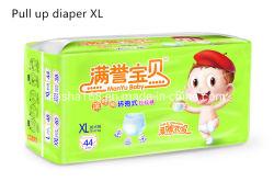 Calidad Premium fabricante de pantalones de pañales desechables pañales de algodón tejido en China