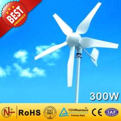 مولد بدون مغناطيس دائم Vawt للتوربين بقوة 300 واط صغير نظام طاقة الرياح للاستخدام المنزلي واستخدام Streetlight لـ نظام طاقة الرياح لمصانع الرياح