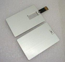 Ordinateur portable haut de la vente du métal personnalisée Card USB4g 8g 16g 32g Card USB Stick (TF-0100)