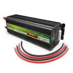 Off-Grid 12V CC à 110V AC Onde sinusoïdale modifiée 5000W onduleur chargeur solaire