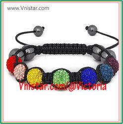 De Juwelen van Fashioin/de Armband van Parels Shamballa (SBB067-25)