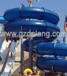 Трубка/туннеля водными горками и поездка на фуникулере, крупные водные горки для продажи (DL-42204)