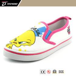 Injection en PVC blanc mignon Skate Chaussures pour enfants 9285