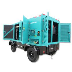 ضغط هواء لضاغط الهواء المضغوط المحمول الذي يعمل بمحرك الديزل التدريبات