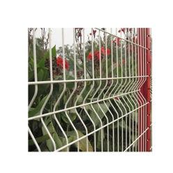 تخصيص رخيصة بيع السياج الساخنة لفائف الصلب 3D حديقة الطي مواد سياج النسيج الشبكي للسكك الحديدية