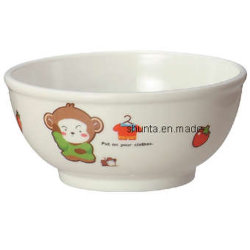 100%melamina Dinnerware-Kid tazón de arroz/Food-Grade Houseware (BG2013)