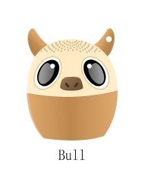 Cute Portable Ox Wireless Haustier Tier Bluetooth-Lautsprecher für mobile Mini-Lautsprecher Für Telefon