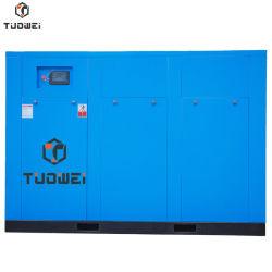 Capacité de 250KW 350HP 40/46/54/55m3/min Compresseur à vis en deux étapes pour l'application de boissons