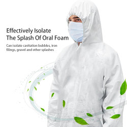 [نون-ووفن] يشبع جسم واقية ملابس مختبرة طبقة لأنّ عمل حماية