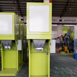 وتتزود المصانع بآلات قياس وزن الأسمدة العضوية وتفريدها
