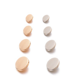 Pé de apoio elástico plana, botão do olhal do Snap High-End Botões Liga Metálica, acessórios de moda e acessórios de vestuário, , usada para vestuário de moda