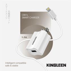 Het Laden USB Uitrusting met de Lader van de Muur en 3FT de Kabel van USB voor iPhone X Xs 6 7 8 van het Apparaat van de Appel plus