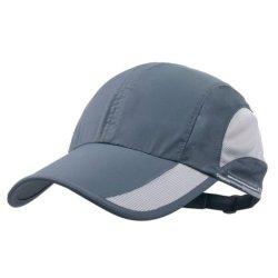 100% Polyester Custom exécutant Vintage léger en microfibre Quick Dry respirant l'exécution de chapeaux de maillage Sports Cap