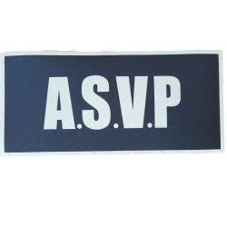 Badge riflettente ad alta visibilità Asvp 3 m Accessori per uniforme di sicurezza
