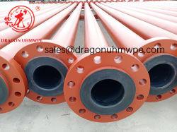 마포 저항하는 PE에 의하여 일렬로 세워지는 합성 강철 광업 철 광석 슬러리 파이프라인