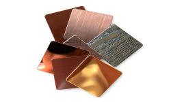 201 304 Farben-Edelstahl-Platte/Blatt des Haarstrich316l 321