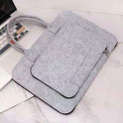 도매 맞춤형 비즈니스 펠트 토트 백 핸드백 노트북 가방 슬리브 케이스