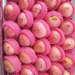 과일 신선한 빨간 종이에 의하여 자루에 넣어지는 Qinguan Apple