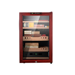 65L 주문품 삼목 시가 박스 습기를 공급 여송연 내각 여송연 저장 상자