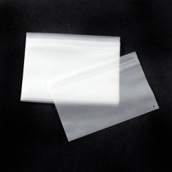 In het groot Plastic Duidelijke Berijpte Overhemd/Kleren die Poly Zelfklevende Zak voor Kleding/de Fabriek/de Opslag van de Kleding inpakken