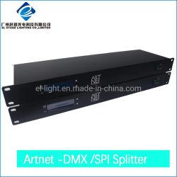 8 façons Splitter DMX et le distributeur et Spi avec Artnet Bidirection la transmission du signal
