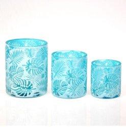 卸し売り空の贅沢なガラス蝋燭ホールダーによっては装飾党陽気な式が家へ帰る