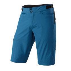 Shorts di riciclaggio personalizzati di sport della bicicletta protettiva degli abiti sportivi blu