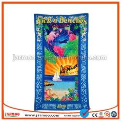 Vendas quente Praça exterior impresso Personalizado Stripe toalha de praia