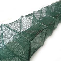 携帯用折られた漁網/魚のエビの小魚のCrayfishのカニの鋳造物の網のトラップの網の魚の定置網
