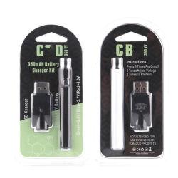 Vertex de haute qualité VV Préchauffer Batterie pour cartouche de vaporisateur d'huile