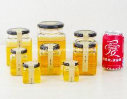 La Plaza mayorista tarro de miel la tuerca de almacenamiento de botellas de vidrio Cristalería 50/100/500ml