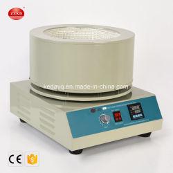 デジタル表示装置の磁気スターラーが付いている電気暖房のふた