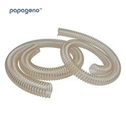 Гибкая прочного спираль усиленные Anti-Static PU Воздуховод шланг