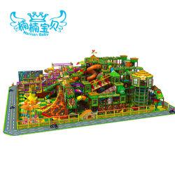 Bambini campo giochi morbido del grande parco di divertimenti dell'interno del campo da giuoco