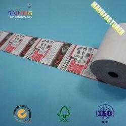 Высшее качество тепловой рулон бумаги для кассовых аппаратов 80х80,57x50мм