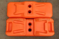 Los pies de la Base de plástico moldeado por soplado para la valla de temporal de instrumentos (XMR190)