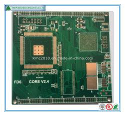 Carte de circuit imprimé multicouche avec PCB BGA/ or d'immersion